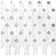 GT Glass Starburst 9-3/16 x 11-3/8  Xenia's Belt SAR-2451