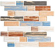 GT Glass Textile 11-3/4 x 11-3/4 Indigo Stonewash TXT-6413