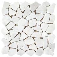 Roca Rockart Juliano Blanco 12 x 12 Mosaic FMV199T011