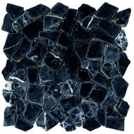 Roca Rockart Juliano Negro 12 x 12 Mosaic FMV179T161