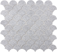 Roca Rockart Terrazo Scales Grey 12 x 12 Mosaic FWMRGLES01