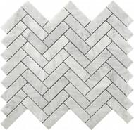 Roca Rockart Herringbone Marble 12 x 12 Mosaic USTMHERR001