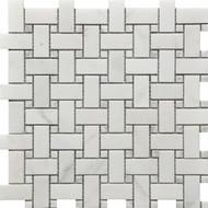 Roca Rockart Basketweave Marble 12 x 12 Mosaic USTMBSWE002