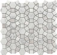Roca Rockart Kaleidoscope Marble 12 x 12 Mosaic USTMCREY008