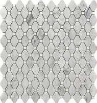 Roca Rockart Rhombus Small Marble 12 x 12 Mosaic USTMRMBS007
