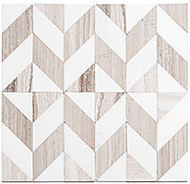 GT Glass Picassa 11 x 11-3/8 Paloma Taupe PCA-629