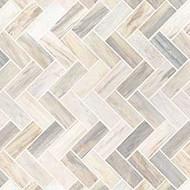 MSI Angora Herringbone Marble Mosaic SMOT-ANGORA-HBP