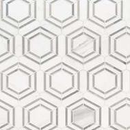 MSI Georama Grigio Polished Marble Mosaic SMOT-GEORAMA-GRIGIOP