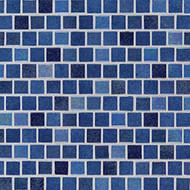 MSI Hawaiian Blue 1 x 1 Glass Mosaic SMOT-GLSB-HAWBLU4MM