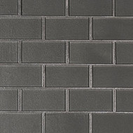 MSI Metallic Gray  2 x 4 Subway Mosaic SMOT-GLSST-MEGR8MM