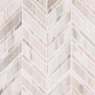MSI Palisandro Chevron Polished Marble Mosaic SMOT-PALI-CHEVRON10MM