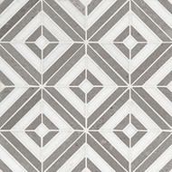 MSI Rhombix Dove Polished Marble Mosaic SMOT-RHOMBIX-DOVEP
