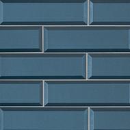 MSI Tahiti Blue Beveled Mosaic SMOT-GL-T-TAHBLU2.5x8