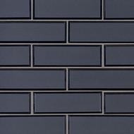 MSI Vague Blue 2 x 6 Subway Mosaic SMOT-GLSST-VAGBLUBEV6MM