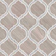 MSI White Quarry Savona Marble Mosaic SMOT-WQSAV-HON10MM