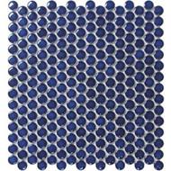 Roca CC Mosaics Penny Round Bright Cobalt 12 x 12 Mosaic UFCC110-12M