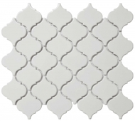 "Roca CC Mosaics Lantern 2"" Bright White 12 x 12 Mosaic UFCC118-12M"