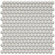 Roca CC Mosaics Plus Penny Round Bright Pearl White 12 x 12 Mosaic UFCC125-12M