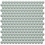 Roca CC Mosaics Plus Penny Round Bright Mint Green 12 x 12 Mosaic UFCC127-12M