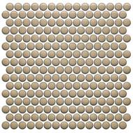 Roca CC Mosaics Plus Penny Round Bright Sand 12 x 12 Mosaic UFCC123-12M