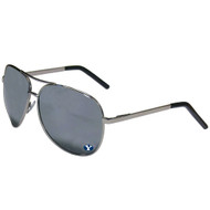 BYU Team Color Aviator Sunglasses
