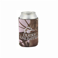 Ducks Unlimited Pink Camo Can Insulator
