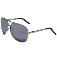 Kansas State Team Color  Aviator Sunglasses