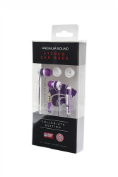 Kansas State Team Color Ear Buds