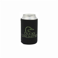 Ducks Unlimited Black Can Insulator