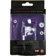 Kansas State Studio Team Color Ear Buds