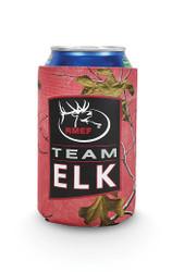 RMEF Team Elk Coral Can Insulator