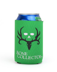 Bone Collector Lime Green Can Insulator