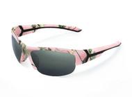 Realtree Pink Camo Pursuit w/ Grey Lens Polarized Sunglass