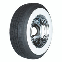"Kontio Whitepaw 225/75R15 3"" Whitewall"