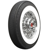 "American Classic 820R15 3 1/4"" Whitewall (Bias Look Radial)"