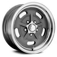 American Racing Salt Flat 15x8 Grey CHEV