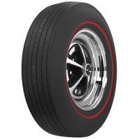 Firestone D70-14 Wide Oval Red Line