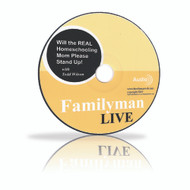 Audio CD - Will the Real Homeschool Mom Please Stand Up! (Live Seminar)