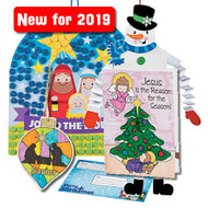 NEW - 2019 Christmas Craft Kits