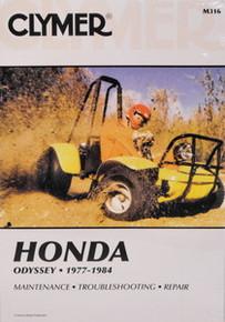 Honda FL 250 Odyssey CLYMER Repair Manual