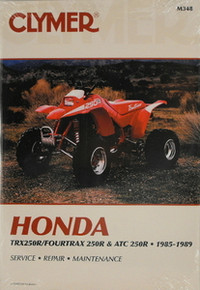 Honda 1985-1986 Atc 250R 1986-1989 TRX250R CLYMER Repair Manual