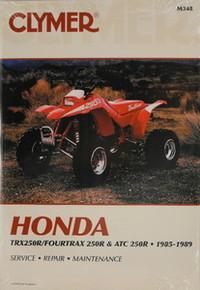 Honda 1985-1986 Atc 250R 1986-1989 TRX250R CLYMER Repair Manual