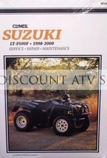 Suzuki LTF 500F Repair Manual