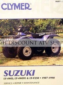 Suzuki LT4WDX LT300 King Quad CLYMER Repair Manual
