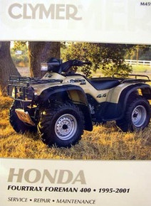 Honda Atv TRX 400 Foreman Fourtrax CLYMER Repair Manual