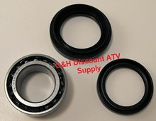 2000-2006 Honda TRX350 Rancher 4WD 4x4 Front Wheel Bearing & Seal Kit (1 wheel) *FREE U.S. SHIPPING*