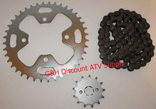 Honda ATC 350X Chain and Sprockets kIT Front Rear Standard 13T 40T *FREE U.S. SHIPPING*