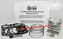 Kawasaki KLF300 Bayou Engine Motor Top End Rebuild Kit Cylinder Machining Service