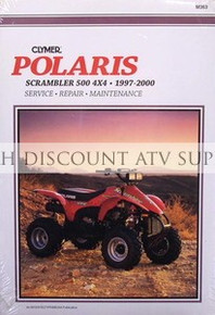 1997-2000 Polaris Scrambler 500 4x4 Repair Manual