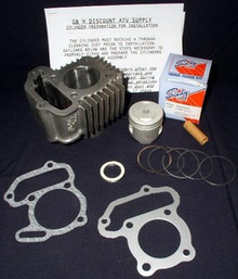 Yamaha YFM 80 Moto-4 Badger Raptor Engine Top End Rebuild Kit & Cylinder Machining Service